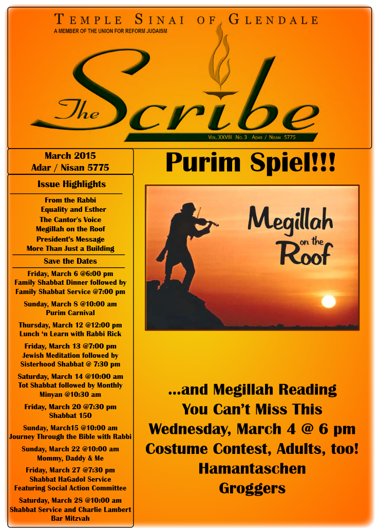 Scribe Mar 15 Cover