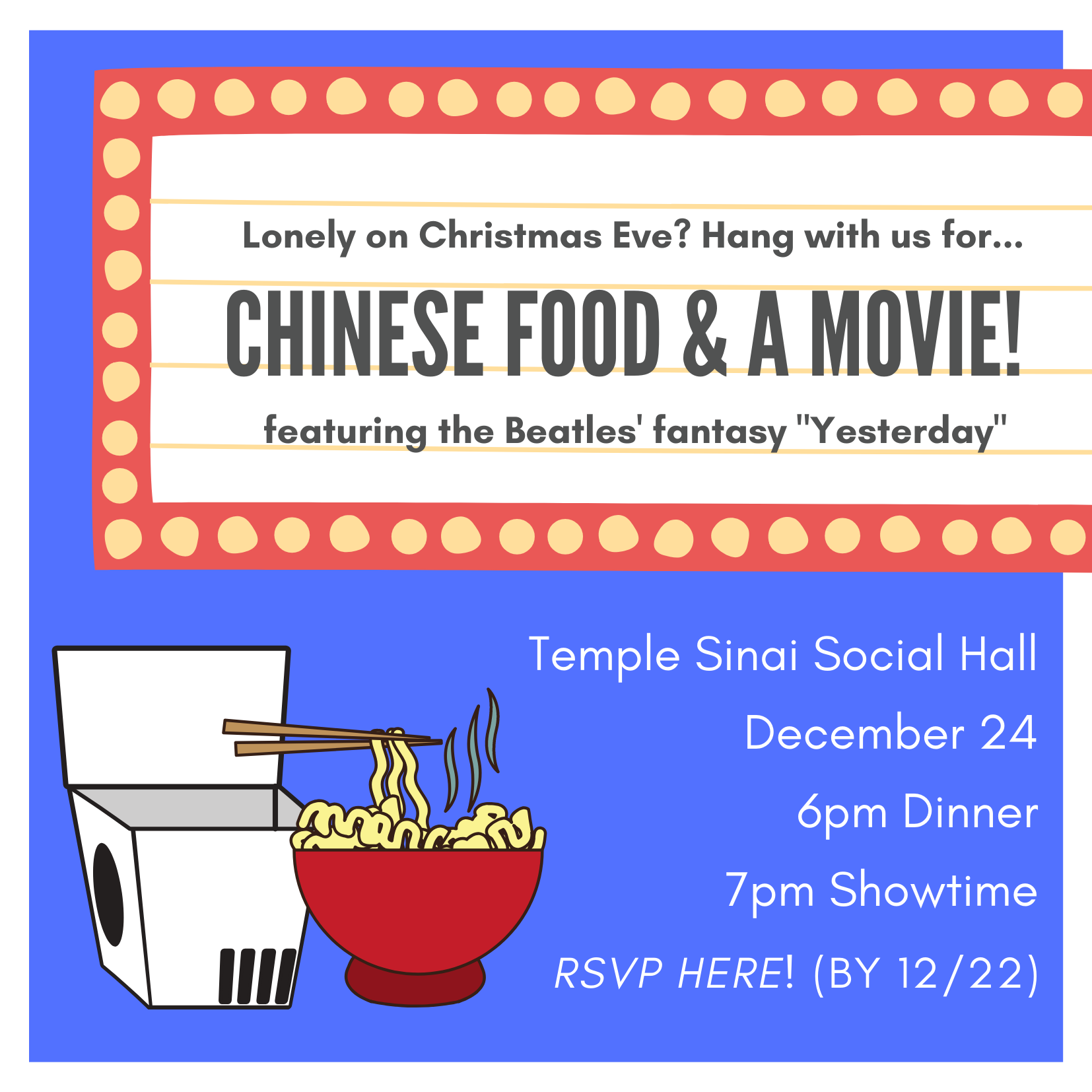 chinese food & movie (square)